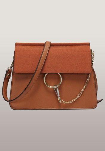 chloe handbags online - Dupe to Chloe's Faye Bag---Jamie Medium Suede And Leather Shoulder ...