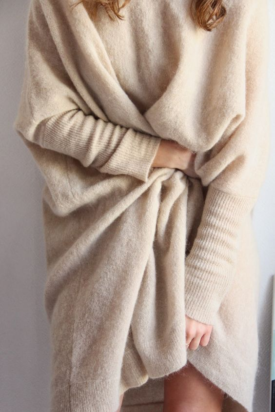 It's just like coziness in a huge sweater !