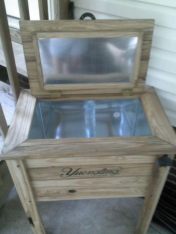 Julieann0383 S Image Wood Cooler Wooden Cooler Wooden Ice Chest