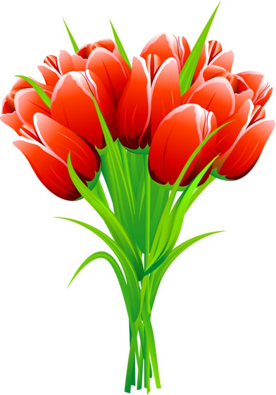 free spring flower bouquet clipart - photo #42