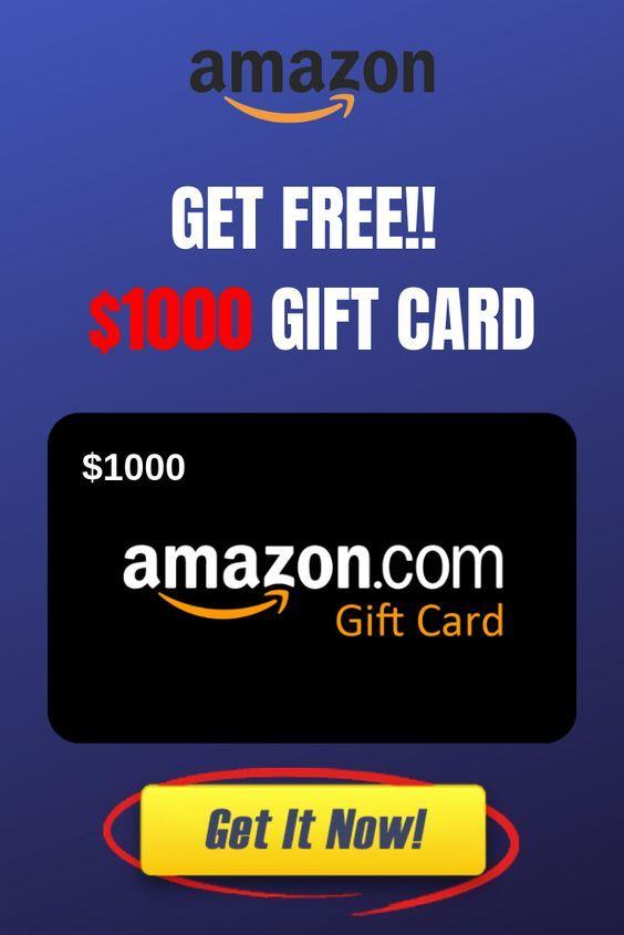 1000 Free Amazon Gift Cards Earn Amazon Gift Cards And Shop From Amazon Amazon Gift Card Free Free Gift Card Generator Amazon Gift Cards