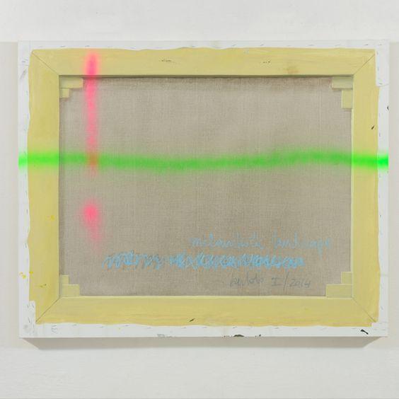 Luca Bertolo, Melancholic Landscape, 2014: