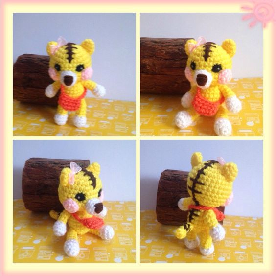 A personal favorite from my Etsy shop https://www.etsy.com/listing/237623814/amigurumi-tiger-crochet-tiger-stuffed