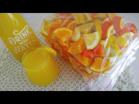 طريقة تخزين البرتقال والليمون لشهر رمضان المبارك مع كيفية صنع أروع عصير طبيعي Youtube Party Desserts Fruit Desserts