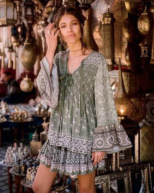 Boho Chic Gypsy Boho Dresses