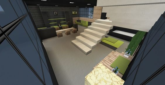 Modern House 6 Minecraft Project