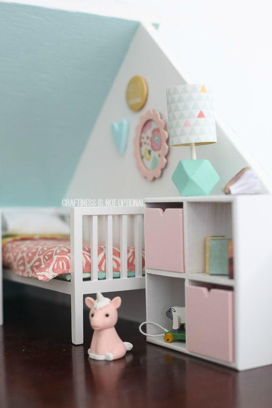 Turquoise Barbie House: Amazing DIY Dollhouse By Craftiness Is Not Optional