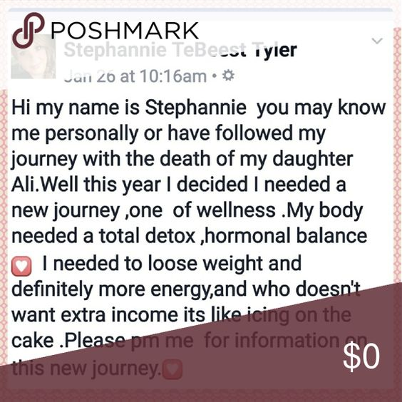 Pm me for details Total detox for your ,body ,weight loss ,energy ...