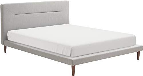 Serta Fubd20017a Sierra Queen Bed Gray Upholstered Platform Bed
