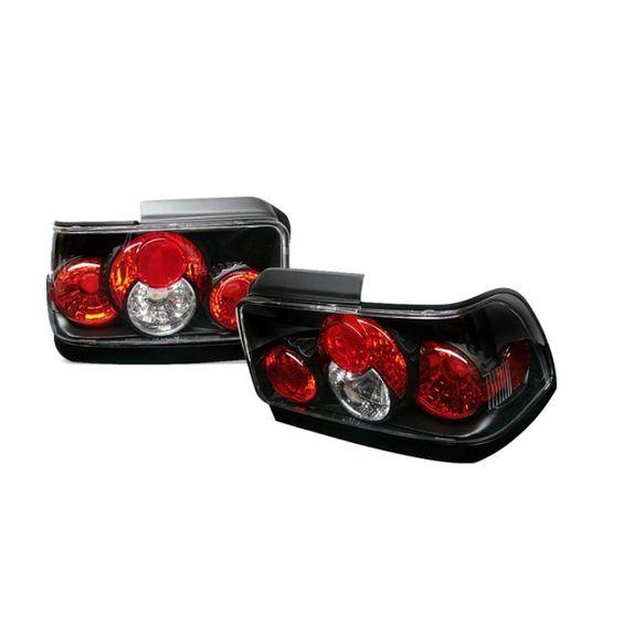 ( Spyder ) Toyota Corolla 93-97 Euro Style Tail Lights - Black