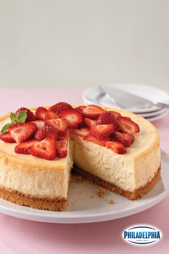 Behold, the perfect holiday cheesecake. Does anything else taste or bake like PHILADELPHIA Cream Cheese? Mmmm. :)