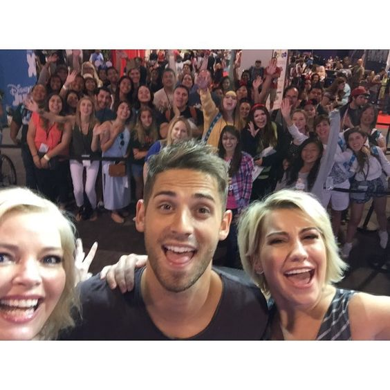 Abc family on instagram tons of fans showed up at the babydaddy abc family on instagram tons of fans showed up at the meet and greet at the m4hsunfo Image collections