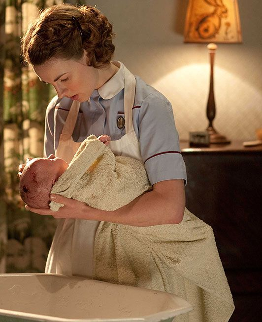 Call the Midwife, one of my favorite British shows that it seems no one has heard of. So real and touching