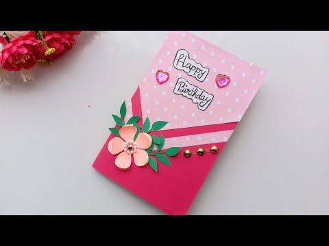 How To Make Birthday Card Handmade Birthday Card Youtube Greeting Card Craft Special Birthday Cards Handmade Birthday Cards