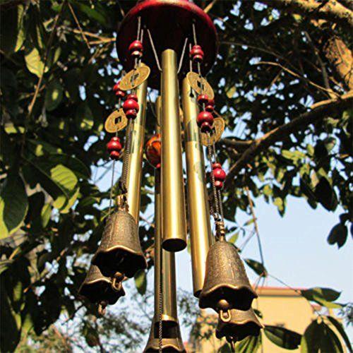 Wind Chimes Mirx Bronze Metal Wind Chimes 4 Tubes 5 Bells Https Www Amazon Co Uk Dp B06wgl8fr9 Ref Cm Sw Wind Chimes Large Wind Chimes Wooden Wind Chimes