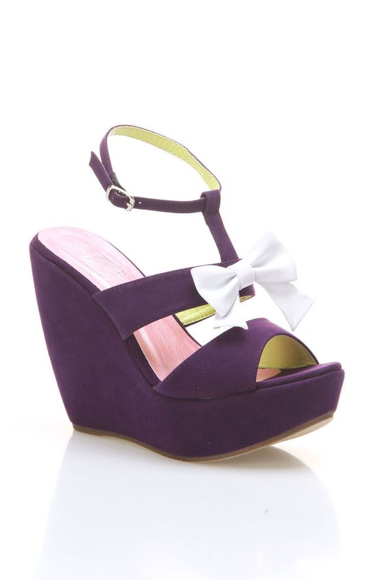 Rio 15 Wedges In Purple