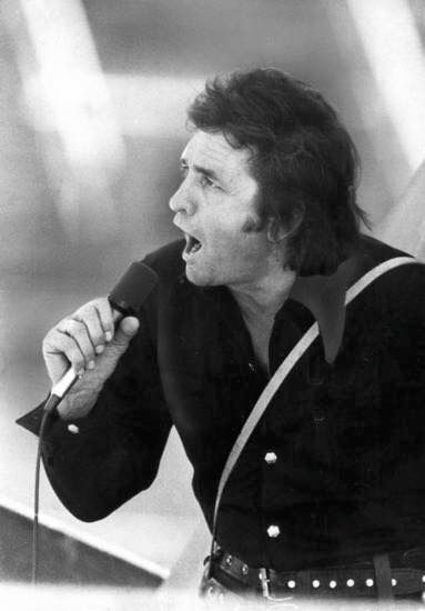 Man is black Johnny Cash sang in McAlester in the 60's 70's at McAlester State Prison in Malester,  Ok.