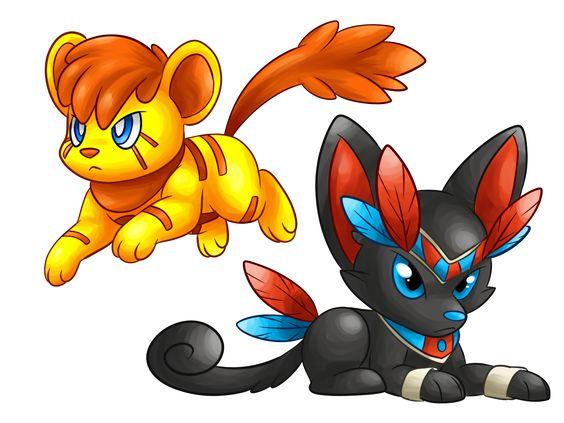 Lion King to Pokemon by CuteMonsta on DeviantArt