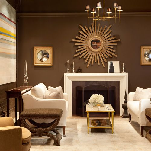 Captivating Living Room Fireplace Inspiration   Ju0027adore Decor   Pinterest   Chocolate  Brown, Living Rooms And Room