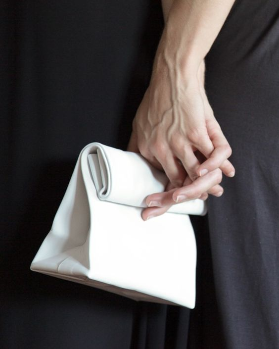 image of adaısm clutch white