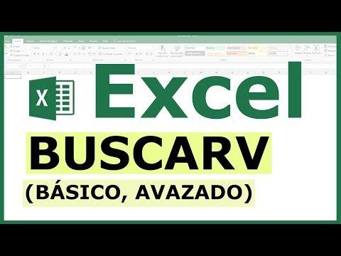 Como Usar La Función Buscarv En Excel Básico Intermedio Avanzado 2019 Youtube Libros De Informatica Clases De Computacion Informatica Y Computacion