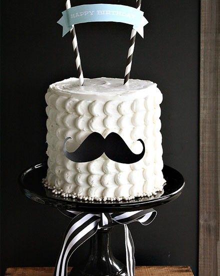 Shake My Blog | Un anniversaire de gentleman à moustache