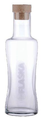 Desinger Flaska kan voor geherstructureerd water op je tafel, in je kantoor, in de vergaderzaal. De Flaska kan herstructureert het water in de kan doordat het glas is behandeld via het TPS-procede, technologie voor het programmeren van silicium. Wie gevoelig is voor de smaak van water proeft het.