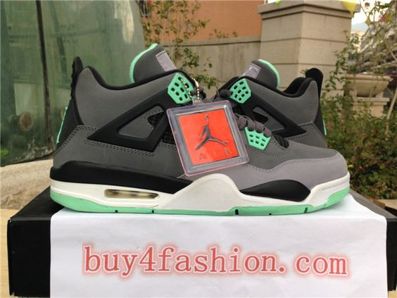 Authentic Air Jordan 4 green glow ig:linlucy3344 youtube:nice kicks6688 twitter:https://twitter.com/nicekicks6 tumblr:http://nicekicks68.tumblr.com/ website:http://www.buy4fashion.com/