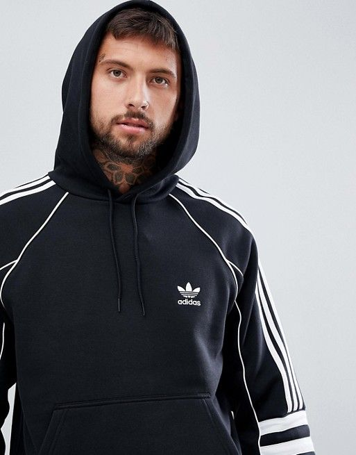 adidas Originals Authentic Tracksuit in Black | Latest