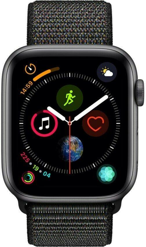 Ebay Sponsored Apple Watch Series 4 Gps Cellular 40mm Space Grau Aluminium Sport Loop Schwarz Apple Watch Kaufen Apple Watch Edelstahl Apfeluhr