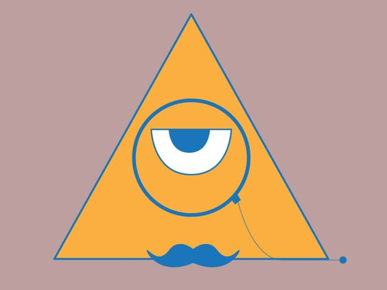 Triangle logo by Cameron Worsley.