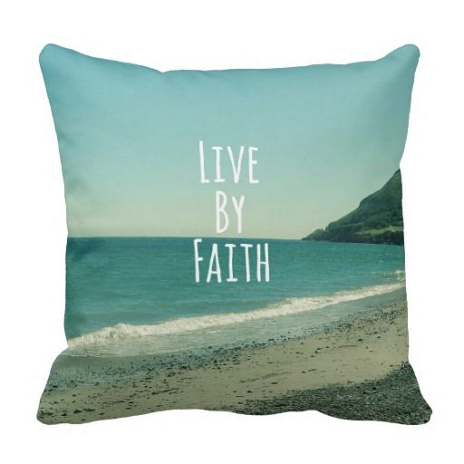 Throw Pillows With Scripture : Bible Verse Beach Pillows #bibleverse #pillows Bible Verse Pillows Pinterest Beaches ...
