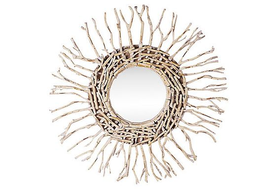 Mundo Round Mirror on OneKingsLane.com