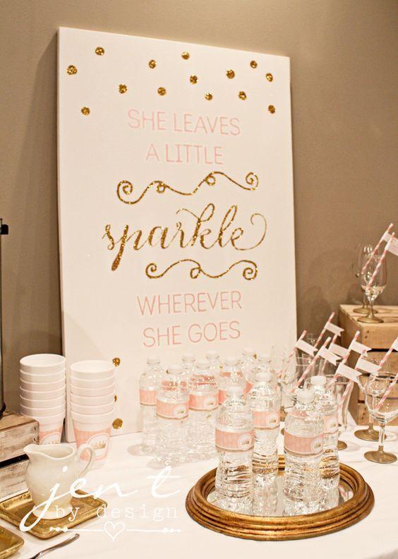 best 25+ sparkle baby shower ideas on pinterest | gold sparkle, Baby shower invitations