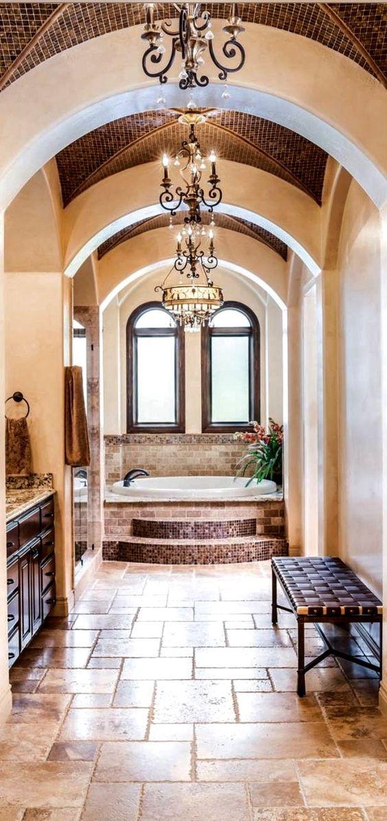 Old World Mediterranean Italian Spanish Tuscan Homes Decor The Millionairess Mansion