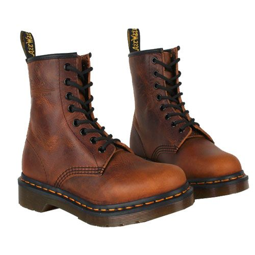 brown dr martens women | Discount Dr. Martens Womens Boots 1460 ...