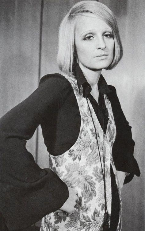 Biba founder Barbara Hulanicki, 1960s.