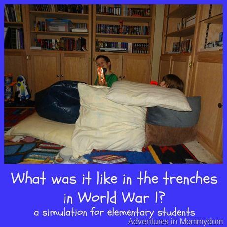 World War 1 trench warfare activity