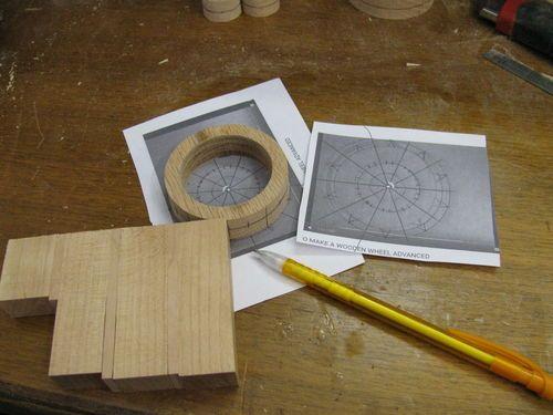 Toy Construction 53 Making A Spoked Wheel Basteln Mit Holz Streichholzer Basteln