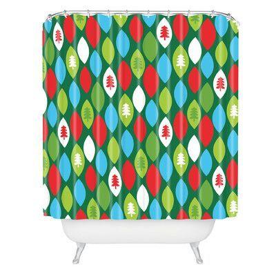 DENY Designs Zoe Wodarz Mini Forest Shower Curtain