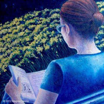 paintings of readers