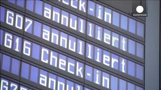 Lufthansa hace frente a la mayor huelga de su historia