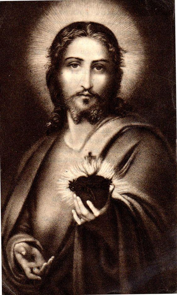 MI RINCON ESPIRITUAL: Promesas del Sagrado Corazón de Jesús a sus devoto...