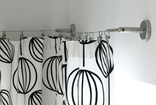 Ikea Dignitet Curtain Wire Stainless Steel Rm39 90 Curtain Hook With Clip 24pc Rm12 90 Support Corner Fitti Curtain Wire Colorful Curtains Homemade Curtains