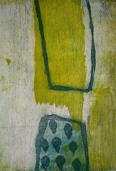 "Jai Llewllyn, ""Outside In"", etching"