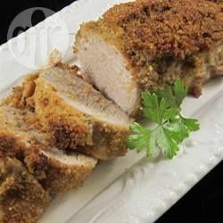 Lombo de porco empanado @ allrecipes.com.br