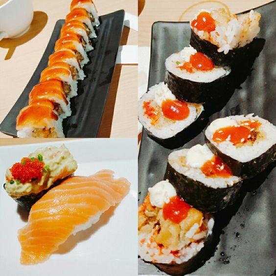Fave salmonnsss sushi