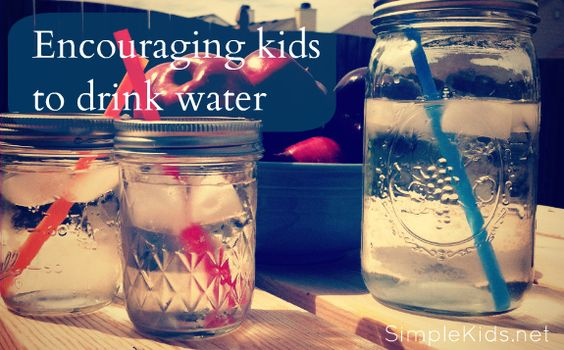 Encouraging kids to drink water - practical and fun suggestions.