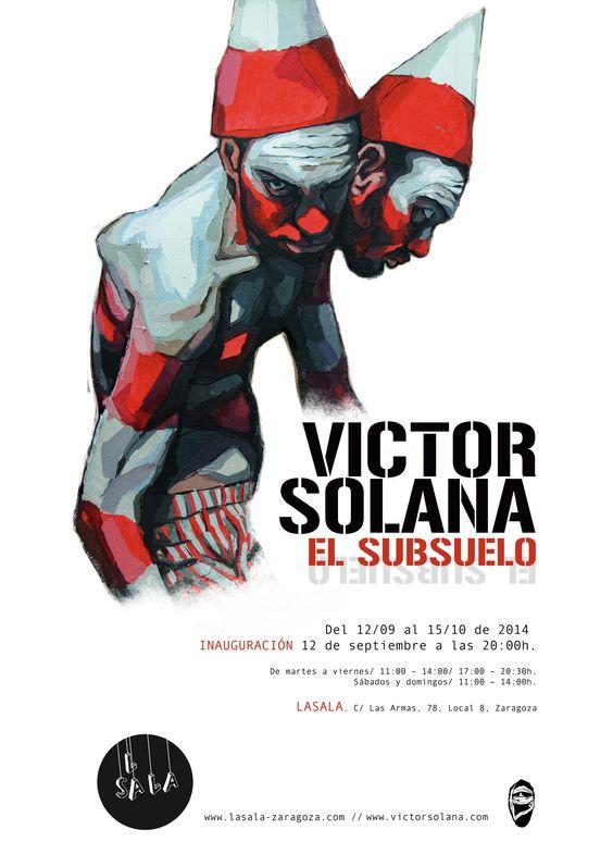 El Subsuelo, exposición del artista zaragozano Víctor Solana. lasala-zaragoza.com
