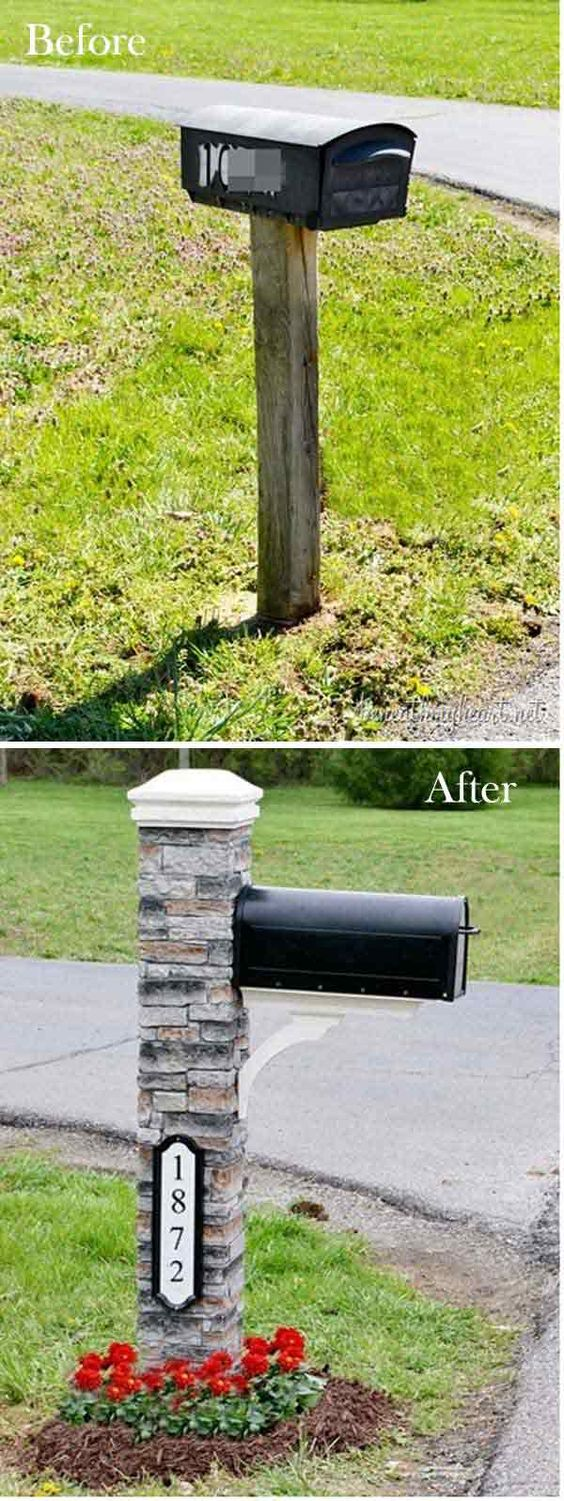 20 Easy and Cheap DIY Ways to Enhance The Curb Appeal: